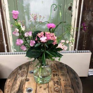 it's a girl boeket bloemen