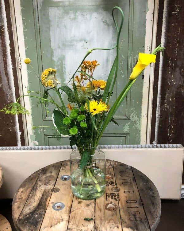 't Geeltje boeket bloemen