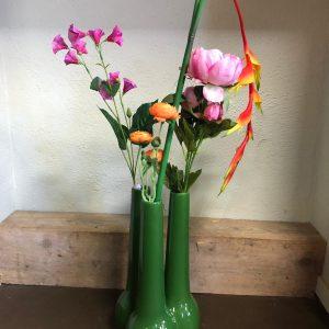 Fleurige bloemenvaas