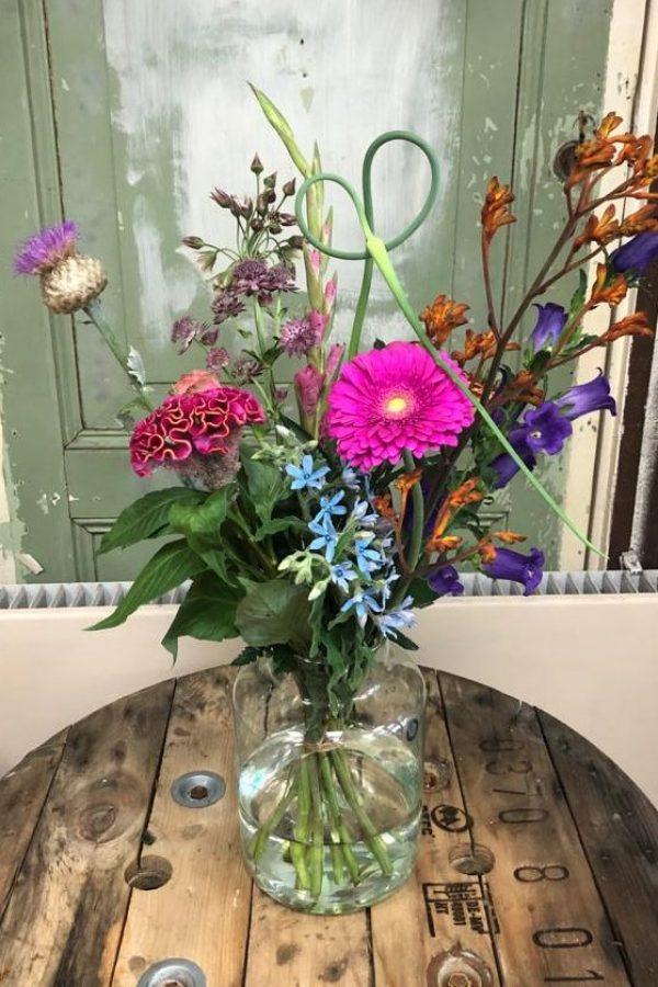 Geluksmomentje boeket bloemen